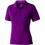 38081385-Damska koszulka polo Calgary-Sliwkowy xxl
