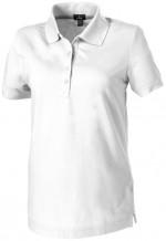 38099010-Damskie polo Crandall-Biały   xs