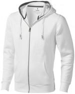 38211016-Rozpinana bluza z kapturem Arora-Biały   xxxl