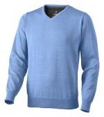 38217400-Pulower Spruce z dekoltem w serek-jasny niebieski  xs