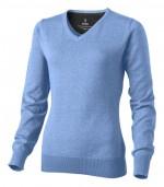 38218400-Damski pulower Spruce z dekoltem w serek-jasny niebieski  xs