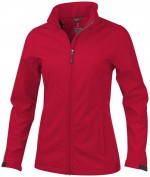 38320250-Damska kurtka typu softshell Maxson-Czerwony xs