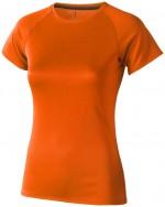 39011334-T-shirt damski Niagara-pomarańczowy   xl