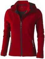 39312250-Damska kurtka softshell Langley-Czerwony xs