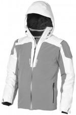 39323010-Kurtka narciarska Ozark-Biały  ,Szary xs