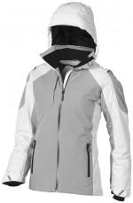 39324011-Damska kurtka narciarska Ozark-Biały  ,Szary s