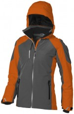 39324333-Damska kurtka narciarska Ozark-pomarańczowy  ,Szary l