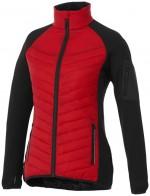 39332250-Damska kurtka hybrydowa Banff-Czerwony xs