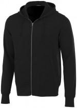 38223999-Rozpinana bluza z kapturem Cypress-czarny xxs