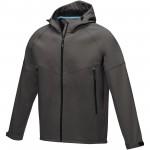 37504893-Męska kurtka softshell Coltan z materiałów z recyclingu z certyfikatem GRS-Szary sztormowy l